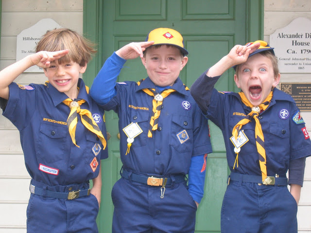 Two of these Pack 39 cub scouts are now active members of Troop 39