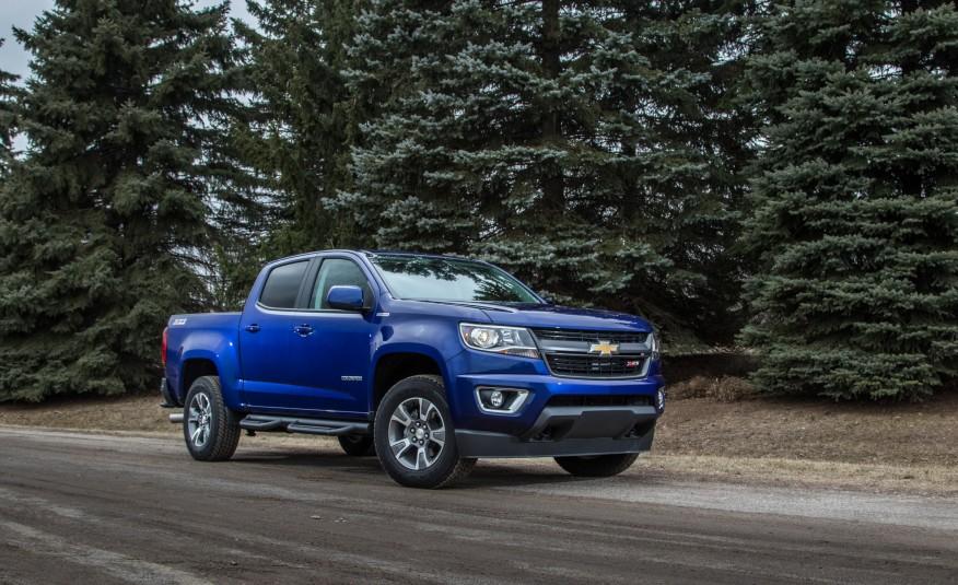 Đánh giá xe Chevrolet Colorado 2016