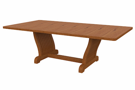 Western Conference Table in Virginia Cherry