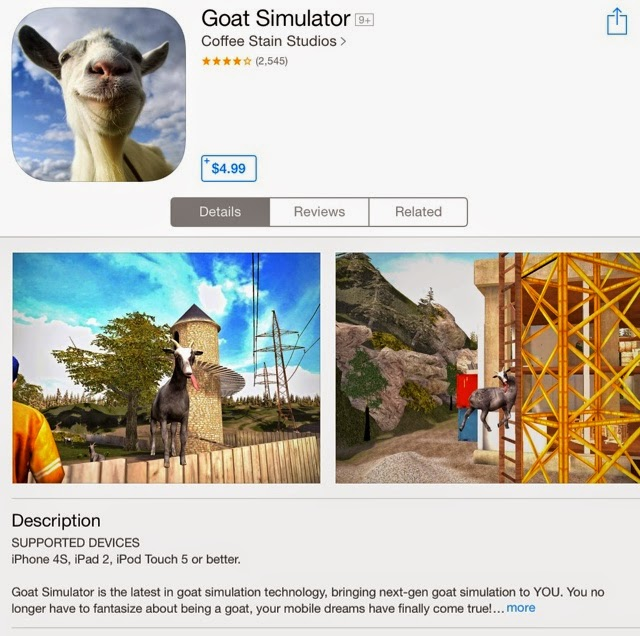 how to go to space in goat simulator ios