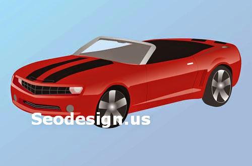 Free Chevrolet Camaro Vectors