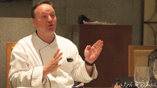 Chef Cyrille Soenen of Impressions at Resorts World Manila