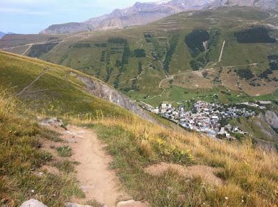 Les 2 Alpes - descente vers Super-Venosc