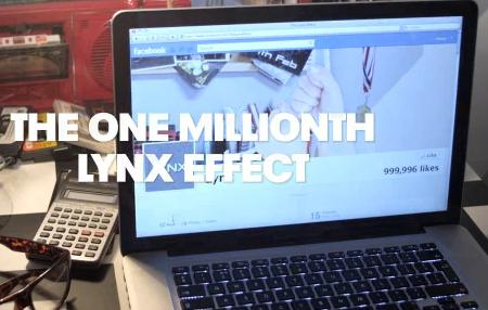 The Lynx Effect Celebrates 1 Million Fans with Rube Goldberg Machine