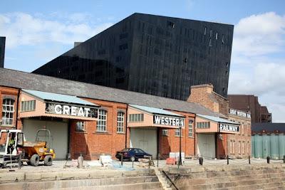 Albert Dock in Liverpool England