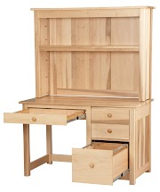 Walnut Hutch Desks