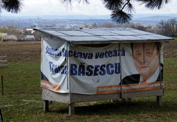 Judeţul Suceava votează Traian Băsescu
