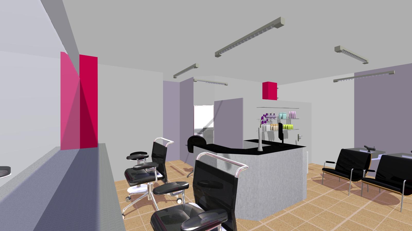 Hom3 le conseil deco salon de coiffure cidalia for Conseil deco salon