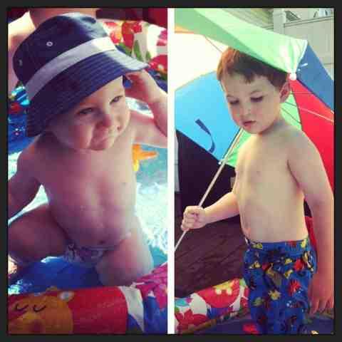 montessori summer fun water play