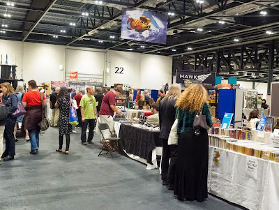 LonCon exhibition hall