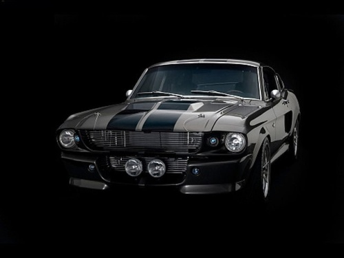 Carros Expantosos: Ford Mustang Shelby GT 500 Eleanor