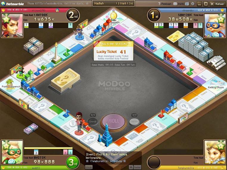 Modoo Marbel - Monopoli Online Indonesia