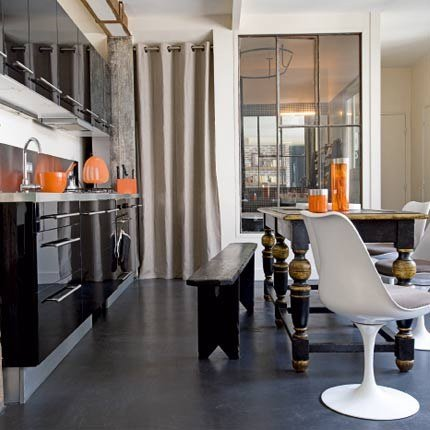 Palazzo pizzo the blog why designer kitchens do not for Table inox ikea