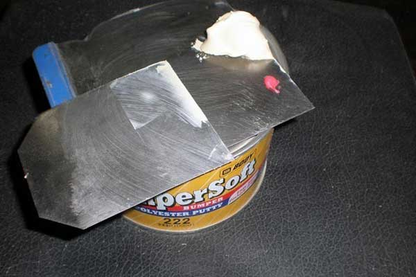 Шпаклевка для пластика