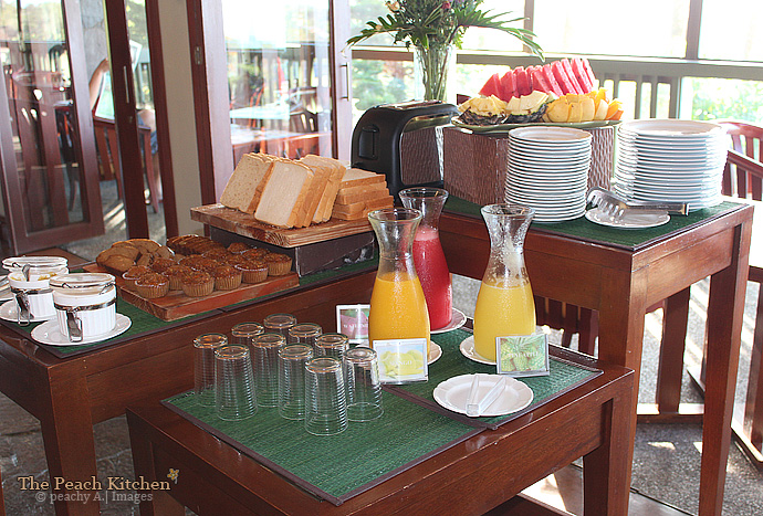 Breakfast At Restaurant Verbena The Discovery Country Suites