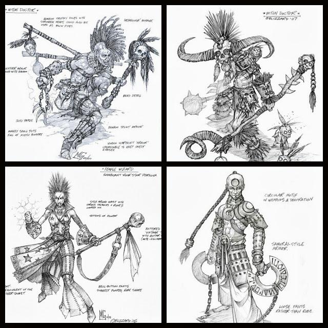 Personajes diablo III MG