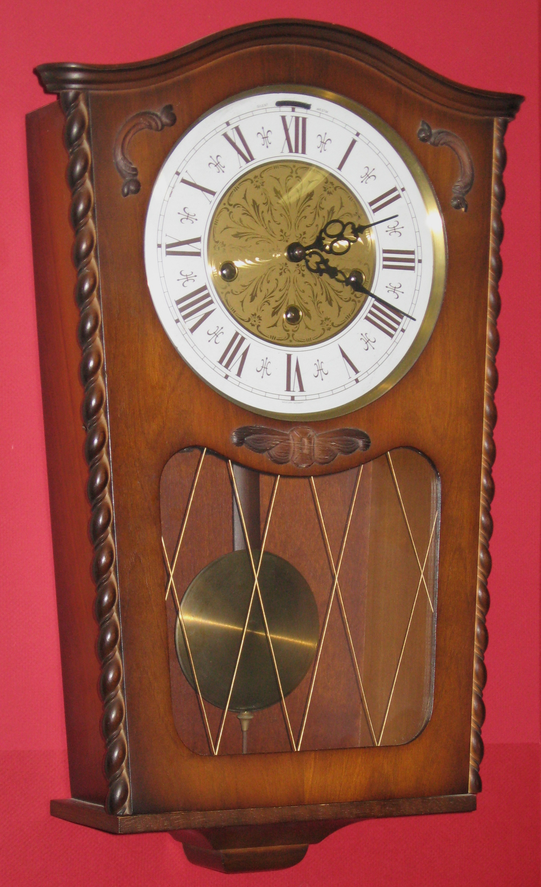 westminster chime wall clock manual
