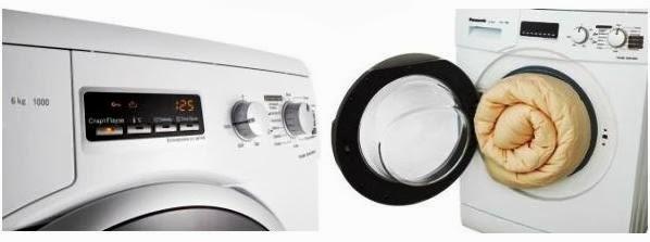 Panasonic NA-106VC5 - большой LED-дисплей и широкий загрузочныи люк