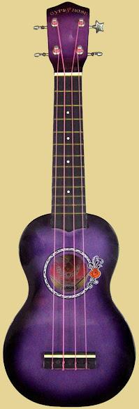 Gypsy Rose Acoustic Soprano Ukulele Corner