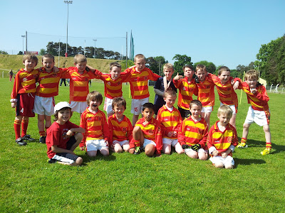 Newcestown under 8 squad after the football blitz in Bandon on June 8 2013