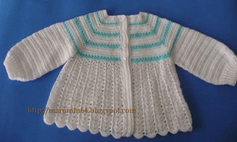 Chambrita Canesú Cuadrado / Square Yoke Sweater