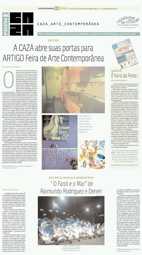 Página da Caza - 02 de Novembro de 2012