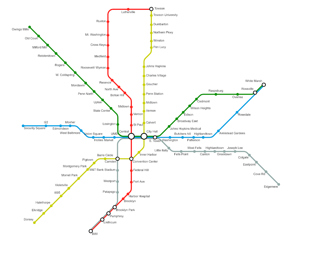 Fantasy Transit Maps Names Area European Green