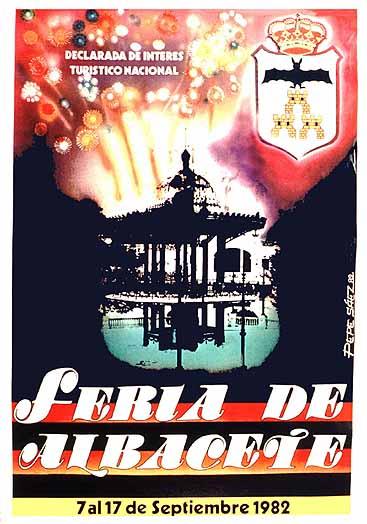 Cartel Feria Albacete 1982