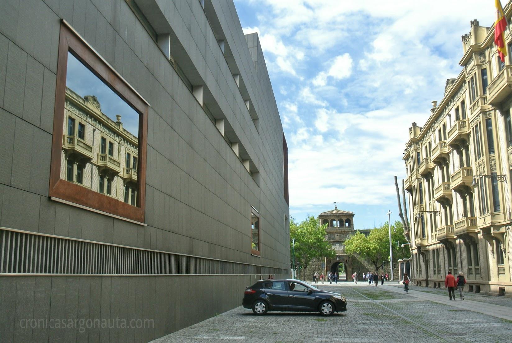 Reflejos en Pamplona