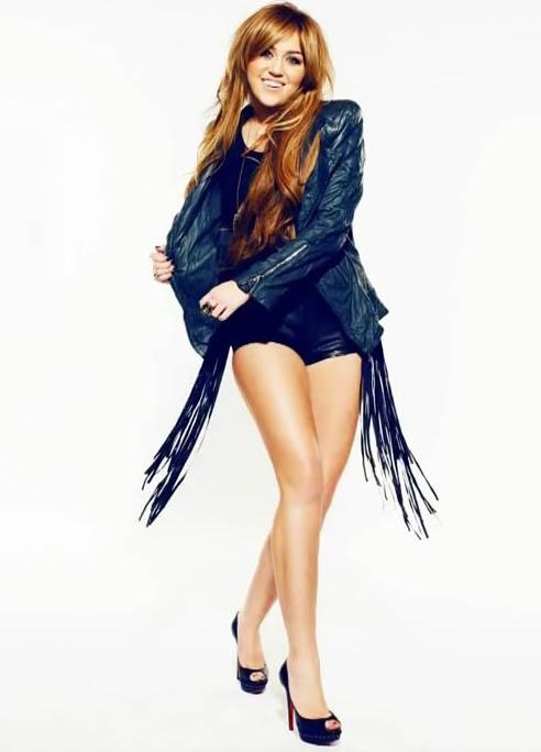 Miley Cyrus Sexy Shorts