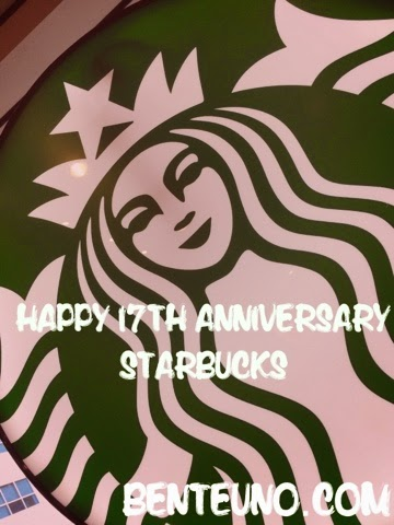 Starbucks 17th Anniversary in the Philippines