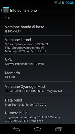 Screenshot 2012 09 12 00 38 49 Il team Cyanogen annuncia le M Series (monthly) release !