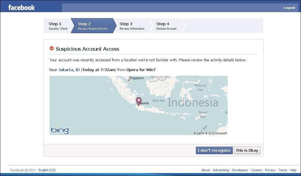 log into facebook facebook facebook did you log into ...