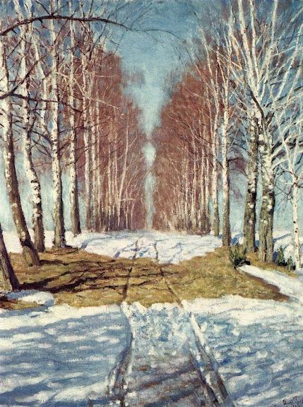 Igor Grabar - Birch Alley
