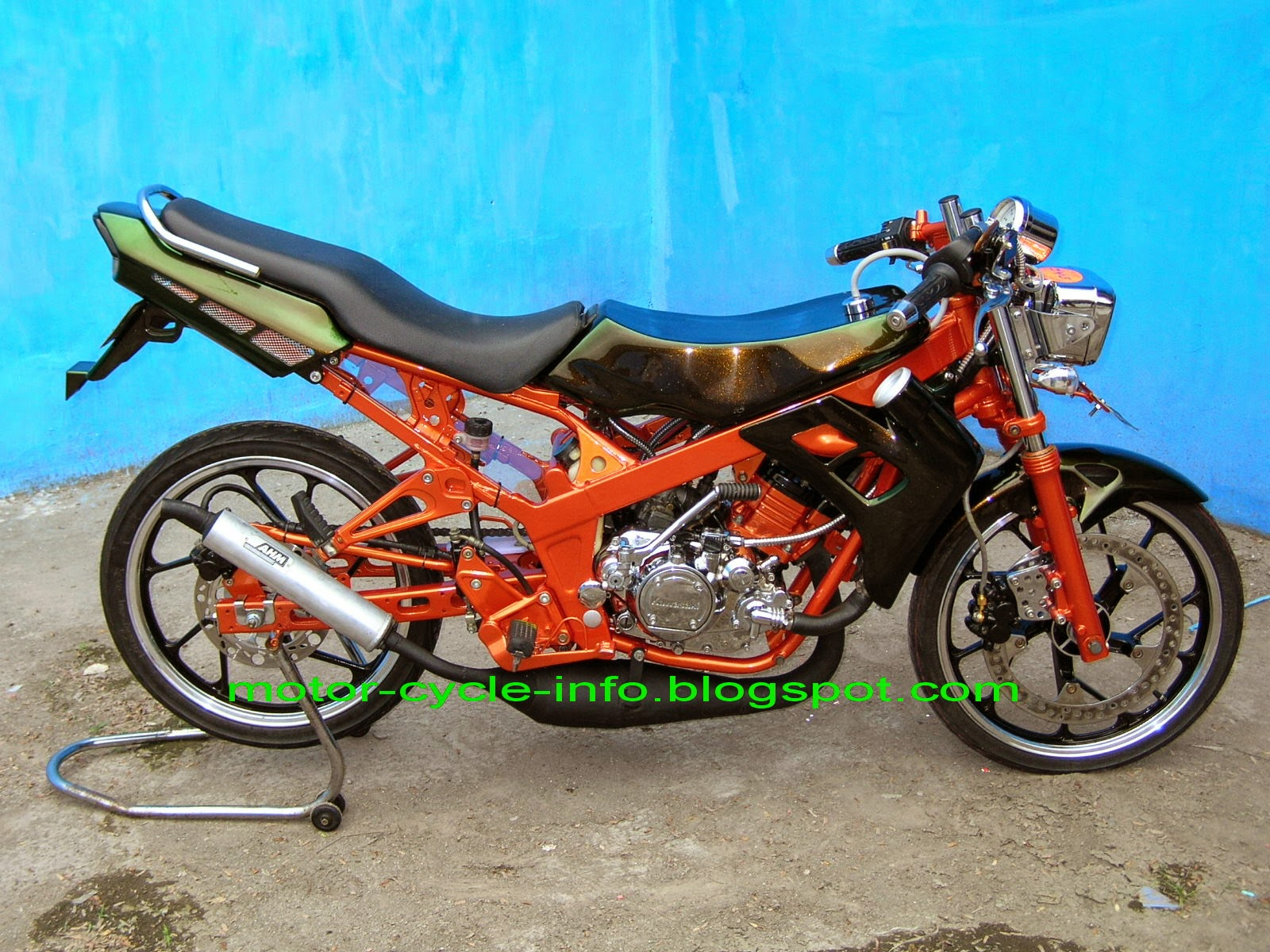 modifikasi honda cs1 2013