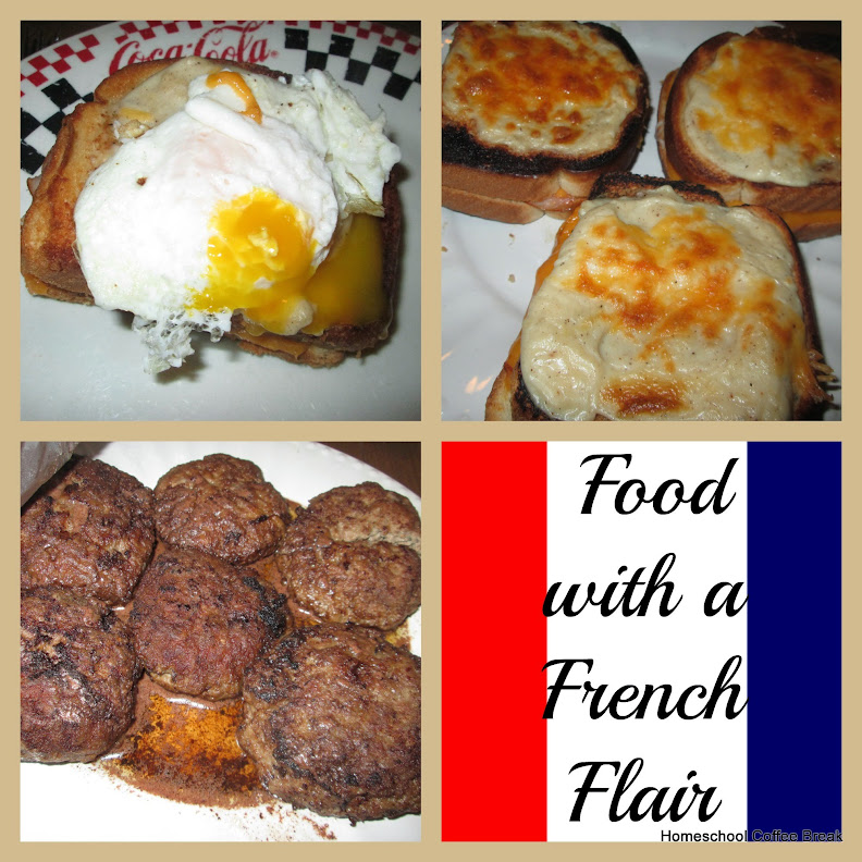 Food with French Flair @kympossibleblog.blogspot.com - Favorites from our Food Projects on Homeschool Coffee Break @ kympossibleblog.blogspot.com #recipes #bloggingthroughJuly #summerchallenge