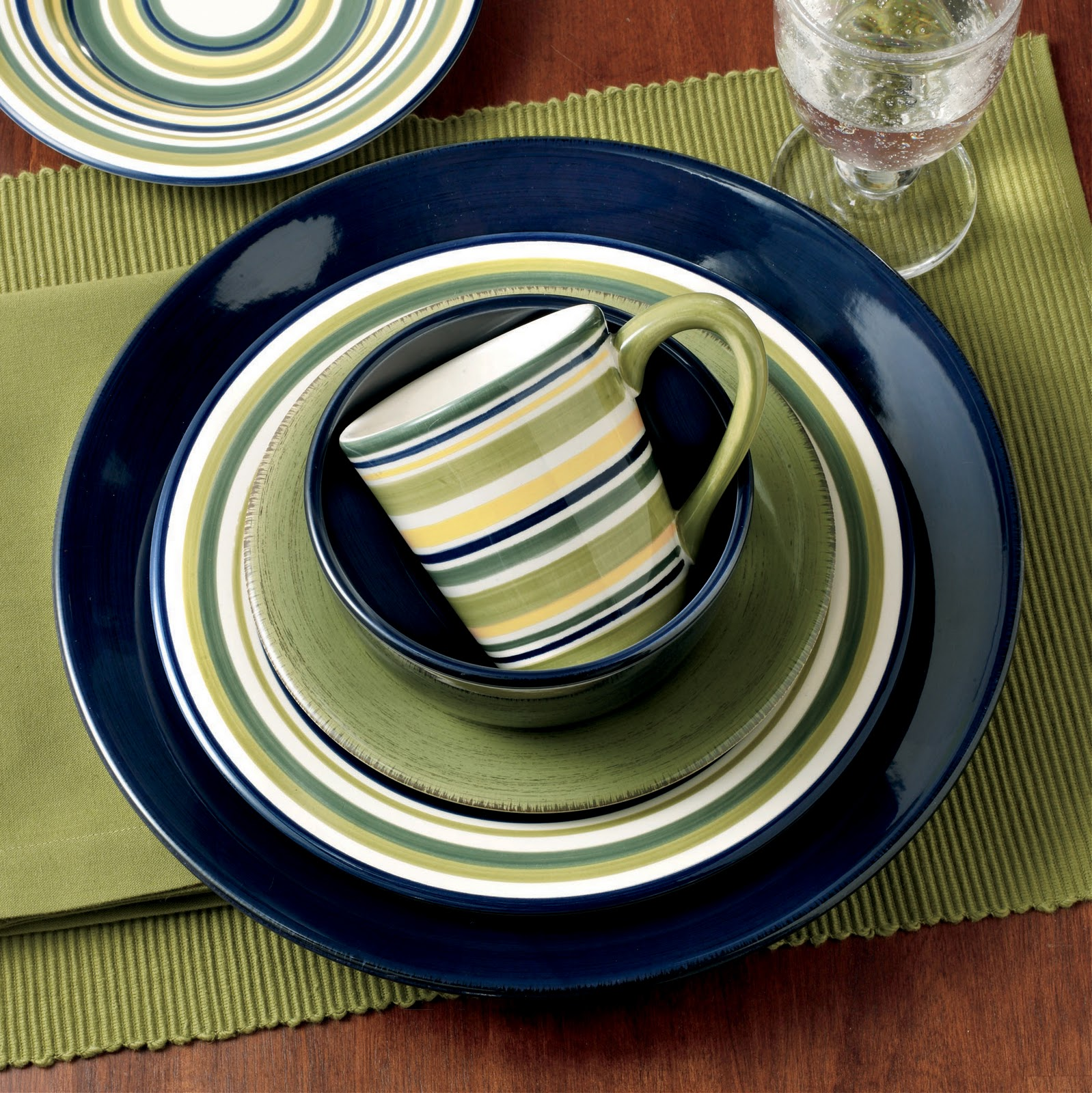 Gift \u0026 Home Today Dinnerware in stripes and solids; paper goods for Halloween & Gift \u0026 Home Today: Dinnerware in stripes and solids; paper goods for ...