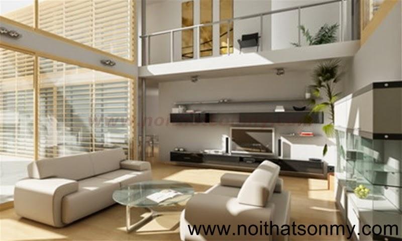 Mẫu thiết kế nội thất phòng khách 339