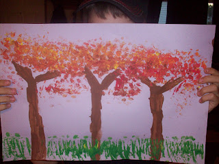 Fall - My 4th grader (Pissarro)