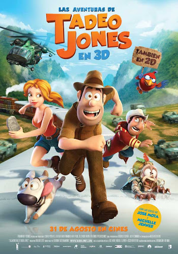 Las aventuras de Tadeo Jones, cartel