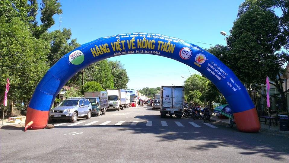Đèn sạc Honjianda - Hàng Việt Về Nông Thôn 2014 - Tỉnh Bỉnh Phước