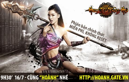 Hoành Tảo Thiên Hạ ra mắt phiên bản chính thức 2