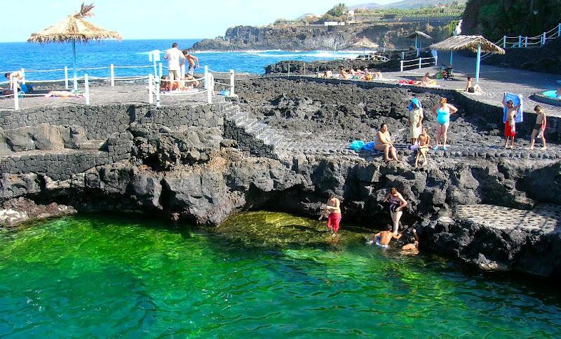 Isla la palma piscinas naturales charco azul naturaleza for Charcos naturales en tenerife