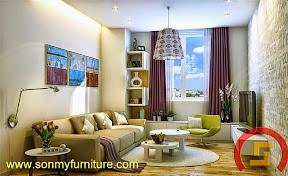 Mẫu nội thất  căn hộ SMF695
