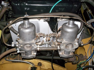 Thoughts On The Weber Downdraft Carb Kit Page 4 Mgb