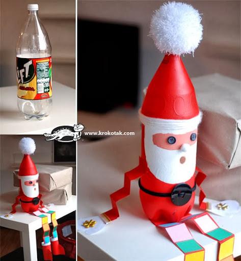 artesanato reciclado de natal