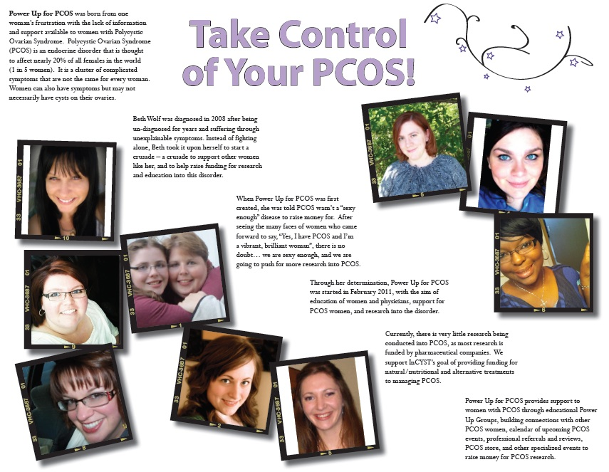 Power UP for PCOS Releases New Awareness Brochures