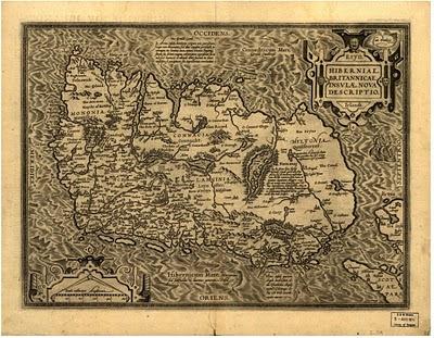 Map Hiberniae