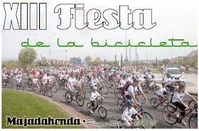 XIII Fiesta de la Bicicleta de Majadahonda. Domingo 9 de septiembre 2012