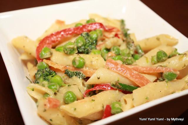 Primavera with Penne Pasta
